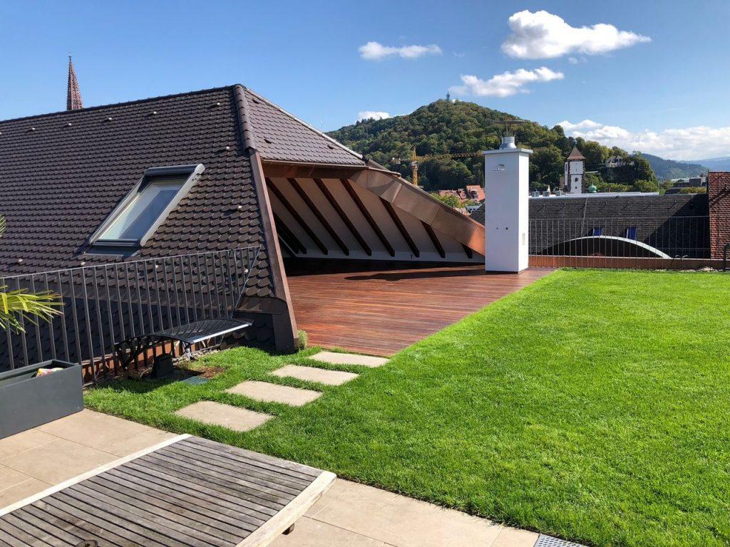 Freier Architekt Frank Steininger Penthouse Altstadt Freiburg